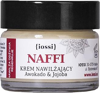 Feuchtigkeitsspendende Gesichtscreme mit Avocado- und Jojobaöl - Iossi NAFFI Cream