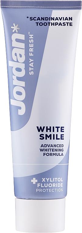 Aufhellende Zahnpasta White Smile - Jordan Stay Fresh White Smile