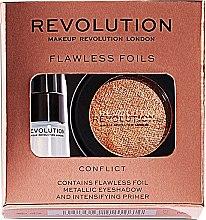 Düfte, Parfümerie und Kosmetik Makeup Revolution Flawless Foils (Lidschatten/2g + Augenbase/2ml) (Overcome) - Set