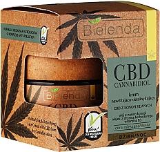 Düfte, Parfümerie und Kosmetik Feuchtigkeitsspendende Entgiftungscreme mit Hanföl - Bielenda CBD Cannabidiol Cream