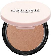 Düfte, Parfümerie und Kosmetik Bronzierpuder für das Gesicht - Estelle & Thild BioMineral Healthy Glow Sun Powder