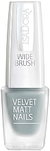 Düfte, Parfümerie und Kosmetik Nagellack - Isadora Velvet Matt Nails