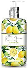 Düfte, Parfümerie und Kosmetik Flüssige Handseife Lemon & Basil - Baylis & Harding Royale Garden Lemon & Basil Hand Wash