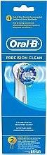 Düfte, Parfümerie und Kosmetik Austauschbare Zahnbürstenköpfe für elektrische Zahnbürste Precision Clean 2 St. - Oral-B Precision Clean