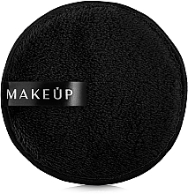 Düfte, Parfümerie und Kosmetik Waschpuff zum Abschminken schwarz - MakeUp Makeup Cleansing Sponge Black