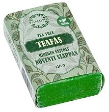 Düfte, Parfümerie und Kosmetik Mydło tłoczone na zimno Drzewo herbaciane - Yamuna Tea Tree Cold Pressed Soap