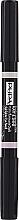 Düfte, Parfümerie und Kosmetik Doppelseitiger Augenbrauen-Highlighter matt und glänzend - Pupa Eye Brow