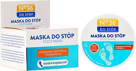 Intensiv pflegende und regenerierende Fußmaske - Pharma CF No.36 Foot Mask
