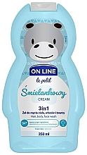 Düfte, Parfümerie und Kosmetik 3in1 Duschgel für Körper, Gesicht und Haar mit Sahneduft - On Line Le Petit Cream 3 In 1 Hair Body Face Wash