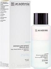 Düfte, Parfümerie und Kosmetik Zwei-Phasen-Augen-Make-up Entferner - Academie Two-Phase Make-Up Remover for Eyes
