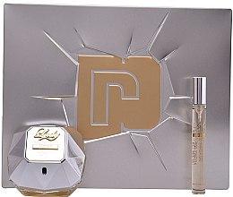 Düfte, Parfümerie und Kosmetik Paco Rabanne Lady Million Lucky - Eau de Parfum Set (Eau de Parfum/80ml + Eau de Parfum/10ml)