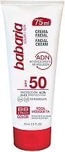 Düfte, Parfümerie und Kosmetik BB Creme mit Wildrosenextrakt und Schutz vor Umwelteinflüssen LSF 50 - Babaria BB Facial Cream With Rose Hip SPF50