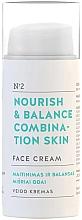 Düfte, Parfümerie und Kosmetik Nährende Gesichtscreme für Mischhaut - You & Oil Nourish & Balance Combination Skin Face Cream