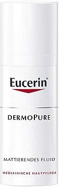 Mattierendes Gesichtsfluid gegen Akne - Eucerin Dermo Pure Mattierendes Fluid — Bild N1
