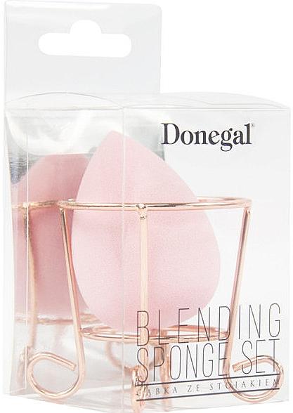 Make-up Schwamm mit Ständer rosa - Donegal
