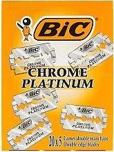 Düfte, Parfümerie und Kosmetik Rasierklingen Chrome Platinum 100 St. - Bic