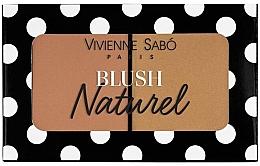 Düfte, Parfümerie und Kosmetik Duo Gesichtsrouge - Vivienne Sabo Naturel Blush Duo