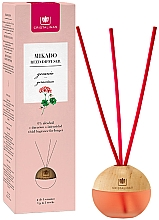 Düfte, Parfümerie und Kosmetik Kugelförmiger Aroma-Diffusor mit Duftstäbchen Storchschnäbel - Cristalinas Mikado Reed Diffuser