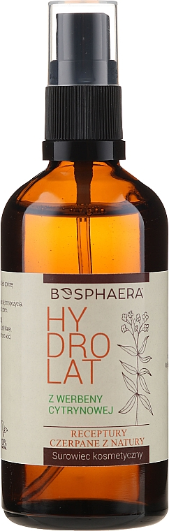 Feuchtigkeitsspendendes Gesichtshydrolat mit Eisenkraut - Bosphaera Hydrolat