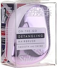 Düfte, Parfümerie und Kosmetik Haarbürste - Tangle Teezer Compact Styler Lilac Gleam
