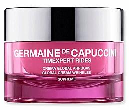 Düfte, Parfümerie und Kosmetik Anti-Falten Gesichtscreme - Germaine de Capuccini TimExpert Rides Supreme Global Cream Wrinkles