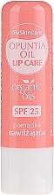 Düfte, Parfümerie und Kosmetik Feuchtigkeitsspendender Lippenbalsam mit Bio Kaktusfeigenöl - GlySkinCare Organic Opuntia Oil Lip Care