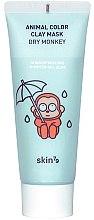 Düfte, Parfümerie und Kosmetik Feuchtigkeitsspendende Gesichtsmaske aus Tonerde - Skin79 Animal Color Clay Mask Dry Monkey