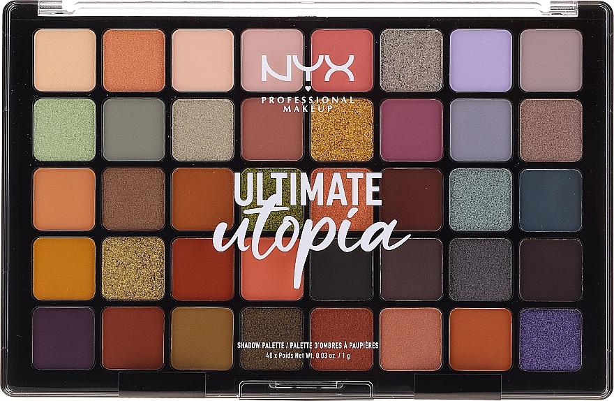 Lidschattenpalette - NYX Ultimate Utopia Shadow Palette Summer 2020