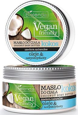 Körperöl mit Kokosnuss - Bielenda Vegan Friendly Coconut Body Butter — Bild N1