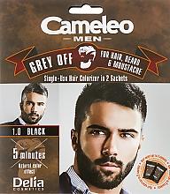 Düfte, Parfümerie und Kosmetik Einwegfarbe zum sofortigen Kaschieren grauer Haare - Delia Cameleo Men