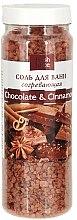 Düfte, Parfümerie und Kosmetik Erwärmendes Badesalz mit Kakaobutter und Zimtöl - Fresh Juice Chocolate & Cinnamon