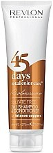 Düfte, Parfümerie und Kosmetik 2in1 Shampoo und Conditioner für Kupfernuancen - Revlon Professional Revlonissimo 45 Days Intense Coppers 2in1