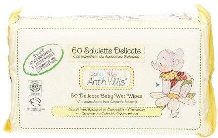 Feuchttücher für Babys 60 St. - Anthyllis Cleansing Wipes — Bild N1