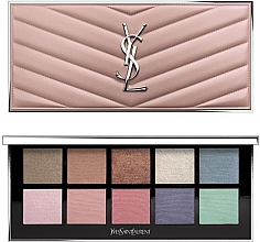 Düfte, Parfümerie und Kosmetik Make-up Palette für Augen und Gesicht - Yves Saint Laurent Couture Colour Clutch Palette