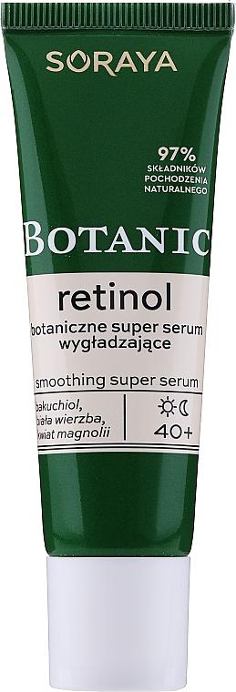 Intensiv glättendes Tages- und Nachtserum mit Bakuchiol, Magnolienblüten und weißer Weidenrinde - Soraya Botanic Retinol Smoothing Super Serum
