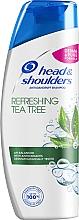 """Düfte, Parfümerie und Kosmetik Anti-Schuppen Shampoo """"Erfrischender Teebaum"""" - Head & Shoulders Tea Tree Shampoo"""