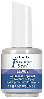 Hochglänzender UV-Versiegelungsgel - IBD LED/UV Intense Sea No Cleanse Top Coat