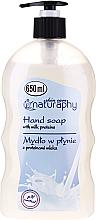 Düfte, Parfümerie und Kosmetik Flüssige Handseife mit Milchproteinen - Bluxcosmetics Naturaphy Hand Soap