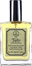 Düfte, Parfümerie und Kosmetik Taylor Of Old Bond Street Sandalwood Alcohol Free Aftershave Lotion - After Shave Lotion Sandelholz