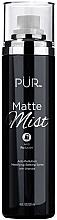 Düfte, Parfümerie und Kosmetik Fixierspray zum Schutz vor Umwelteinflüssen mit Holzkohle - Pur Matte Mist Anti-Pollution Mattifying Setting Spray