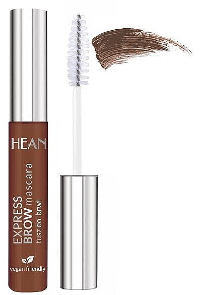 Augenbrauen-Mascara - Hean Express Brown Mascara — Bild N1