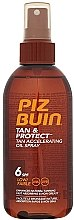 Düfte, Parfümerie und Kosmetik Bräunungsbeschleuniger SPF 6 - Piz Buin Tan&Protect Tan Accelerating Oil Spray SPF6