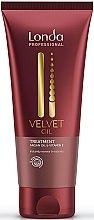 Düfte, Parfümerie und Kosmetik Belebende und regenerierende Haarmaske mit Arganöl und Vitamin E - Londa Professional Velvet Oil Treatment