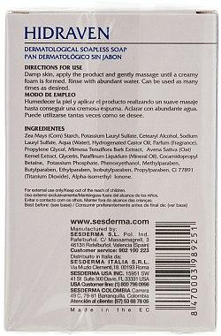 Dermatologische Seife für Körper und Gesicht - SesDerma Laboratories Hidraven Dermatological Bar — Bild N2