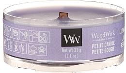 Düfte, Parfümerie und Kosmetik Mini Duftkerze Lavender Spa - Woodwick Petite Candle Lavender Spa