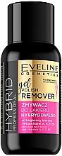 Düfte, Parfümerie und Kosmetik Nagellackentferner - Eveline Cosmetics Hybrid Professional