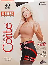 Düfte, Parfümerie und Kosmetik Strumpfhose für Damen X-Press 40 Den Mocca - Conte