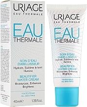 Düfte, Parfümerie und Kosmetik Feuchtigkeitsspendende Gesichtscreme für strahlenden Teint - Uriage Eau Thermale Beautifier Water Cream