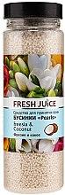 Düfte, Parfümerie und Kosmetik Badeperlen mit Freesie und Kokosnuss - Fresh Juice Bath Bijou Rearls Freesia and Coconut