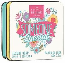 Düfte, Parfümerie und Kosmetik Luxuriöse Seife im Metallbox Someone Special - Scottish Fine Soaps Someone Special Soap In A Tin